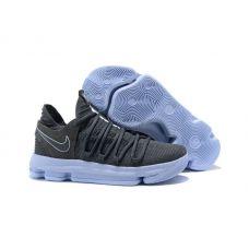 """Баскетбольные кроссовки Nike KD 10 """"Dark Grey"""" 897916-005 (Реплика А+++)"""