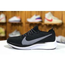 Мужские кроссовки Nike Zoom Fly Flyknit AR4661-001 (Реплика А+++) - С гарантией