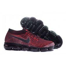 "Кроссовки Nike Air VaporMax Flyknit ""Dark Team Red"" 849558-601 - С гарантией"