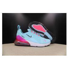 "Кроссовки женские Nike Air Max 270 Flyknit ""Blue Pink"" AH8053-009 - С гарантией"