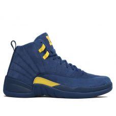 Баскетбольные кроссовки Air Jordan 12 Retro Michigan BQ3180-407 - С гарантией