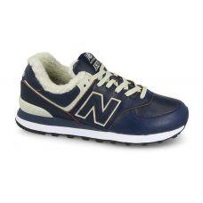 Мужские оригинальные зимние кроссовки New Balance ML574WNF с мехом - С гарантией