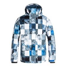Горнолыжная куртка Quiksilver Mission Print Check Kaspers Snow ( Оригинал ) GHJ2 - C гарантией