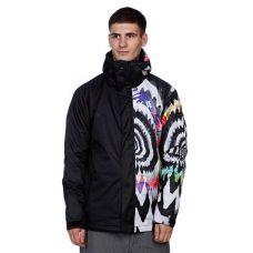 Сноубордическая куртка Quiksilver Next Mission Printed Ins Jkt 2 Geo Tie 8K ( Оригинал ) KMPSJ263-9 - C гарантией