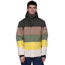 Куртка для сноубординга Quiksilver Fracture Ins Jkt Dark Army ( Оригинал ) KMPSJ34-2 - C гарантией