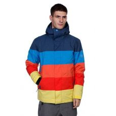 Куртка для сноубординга Quiksilver Fracture Ins Jkt Deep Blu Indigo ( Оригинал ) KMPSJ34 - C гарантией