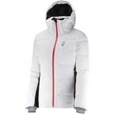 Горнолыжная куртка пуховая Salomon Whitebreeze Down 382310 (Оригинал) - C гарантией