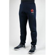 Зимние спортивные брюки Reebok UFC manjet (темно-синий) reebok-ufc-manjet-dark-blue - С гарантией
