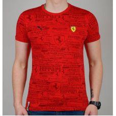 Футболка мужская Puma Ferrari 1769-2 - С гарантией