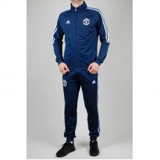 Мужской спортивный костюм Adidas FC ManUTD 8173-1 - С гарантией