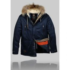 Зимняя куртка  Black Vinyl z-1207-1 - С гарантией