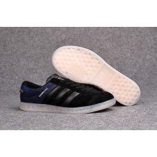 Мужские кроссовки Аdidas Originals Hamburg Tech Core Black/Chalk White S75505 - С гарантией