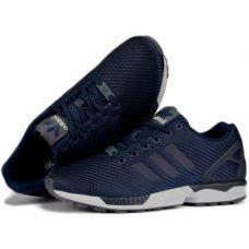 Кроссовки Adidas ZX Flux Navy - С гарантией