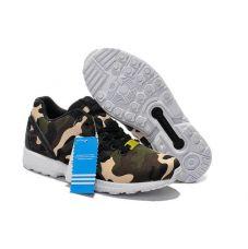Кроссовки Adidas ZX Flux Camo - С гарантией