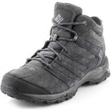 Мужские полуботинки Columbia Plains Butte Mid Leather Smu (1724281) 1724281-011 - С гарантией