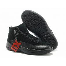 Баскетбольные кроссовки Jordan XII Retro Black 130690-015 - С гарантией
