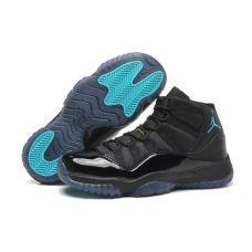 """Баскетбольные кроссовки Jordan 11 Retro """"Black/Gamma Blue"""" 378037-006 - С гарантией"""