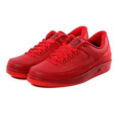"""Баскетбольные кроссовки Jordan 2 Retro Low """"Gym Red"""" 832819-606 (Оригинал)"""