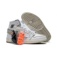 Баскетбольные кроссовки OFF-WHITE x Air Jordan 1 AQ0819-100 - С гарантией