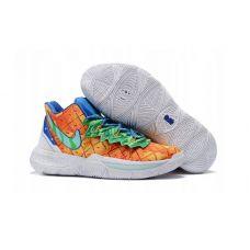 "Баскетбольные кроссовки Nike Kyrie 5 SPONGEBOB ""PINEAPPLE HOUSE"" АО2929-424 (Реплика А+++)"