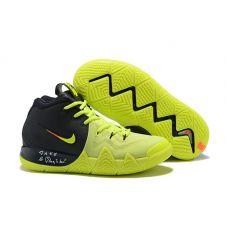 """Баскетбольные кроссовки Nike Kyrie 4  """"NEON VOLT"""" 943807-003 (Реплика А+++)"""