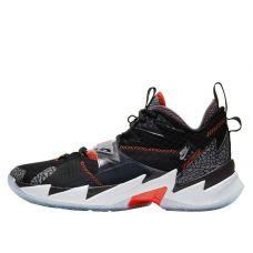 Баскетбольные кроссовки Air Jordan Why Not Zero.3 Black Cement CD3003-006 (Оригинал)