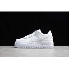 "Кроссовки женские Nike Air Force 1 Shadow ""Triple White"" CI0929-100 (Реплика А+++)"