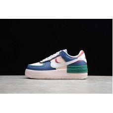 "Кроссовки женские Nike Air Force 1 Shadow ""Mystic Navy White Echo Pink"" CI0929-400 (Реплика А+++)"