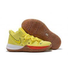 """Баскетбольные кроссовки Nike Kyrie 5 """"SPONGEBOB SQUAREPANTS"""" CJ6961-700 (Реплика А+++)"""