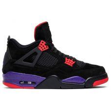 """Баскетбольные кроссовки Air Jordan 4 Retro """"RAPTORS"""" AQ3848-056 (Реплика А+++)"""