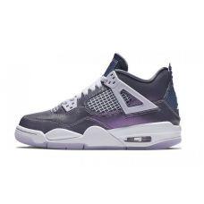 """Баскетбольные кроссовки Air Jordan 4 Retro """"MONSOON BLUE"""" BQ9055-400 (Реплика А+++)"""