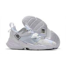 Баскетбольные кроссовки Air Jordan Why Not Zero.3 White CD3004-103 (Реплика А+++)