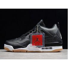 """Баскетбольные кроссовки Air Jordan 4 Retro SE """"BLACK LASER"""" CI1284-001 (Реплика А+++)"""
