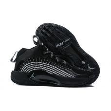 """Баскетбольные кроссовки Air Jordan Jumpman 2021 PF """"BLACK/GREY"""" CQ4239-001 (Реплика А+++)"""