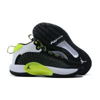 "Баскетбольные кроссовки Air Jordan Jumpman 2021 PF ""BLACK/WHITE/LIGHT GREEN"" CQ4239-007 (Реплика А+++)"