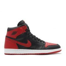Баскетбольные кроссовки Air Jordan 1 Retro 575441-101 (Реплика А+++)