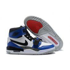 """Баскетбольные кроссовки Air Jordan Legacy 312 """"STORM BLUE"""" AV3923-104 (Реплика А+++) - С гарантией"""