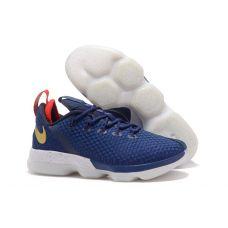 """Баскетбольные кроссовки Nike LeBron XIV Low """"USA"""" 878636-004 - С гарантией"""