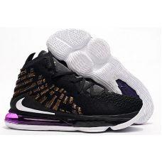 """Баскетбольные кроссовки Nike Lebron 17 """"LAKERS"""" BQ3277-004 (Реплика А+++)"""