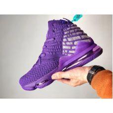 """Баскетбольные кроссовки Nike Lebron 17  """"BRON 2K""""  BQ3277-905 (Реплика А+++)"""