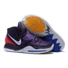 "Баскетбольные кроссовки Nike Kyrie 6 ""GRAND PURPLE"" BQ4530-003 (Реплика А+++)"