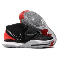 "Баскетбольные кроссовки Nike Kyrie 6 ""BRED"" BQ4630-032 (Реплика А+++)"