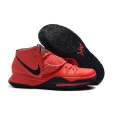 "Баскетбольные кроссовки Nike Kyrie 6 ""RED BLACK"" BQ4630-901 (Реплика А+++)"