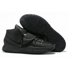"Баскетбольные кроссовки Nike Kyrie 6 ""TRIPLE BLACK"" BQ4630-906  (Реплика А+++)"