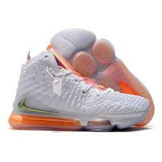 """Баскетбольные кроссовки Nike Lebron 17  """"FUTURE AIR"""" CT3853-100 (Реплика А+++)"""