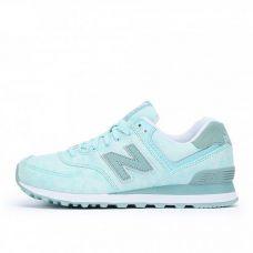 Женские оригинальные кроссовки для бега New Balance 574 WL574SWB- С гарантией