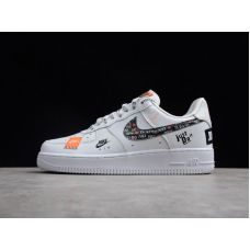 Кроссовки Nike Air Force 1 07 Just Do It Pack White AR7729-100 (Реплика А+++)