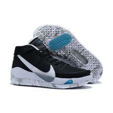 "Баскетбольные кроссовки Nike KD 13 ""BLACK/WOLF GREY/WHITE"" CI9849-001 (Реплика А+++)"
