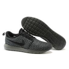 Мужские кроссовки Nike Roshe Run Flyknit 677243-001 - С гарантией