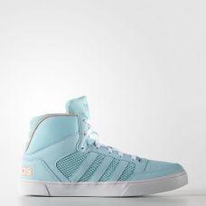 Кроссовки женские высокие Adidas Hoops Vulc Mid F99490 - C гарантией
